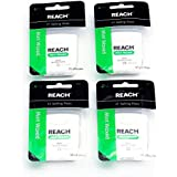 Reach Mint-waxed Dental Floss - 55 Yds. - (Pack of 4)