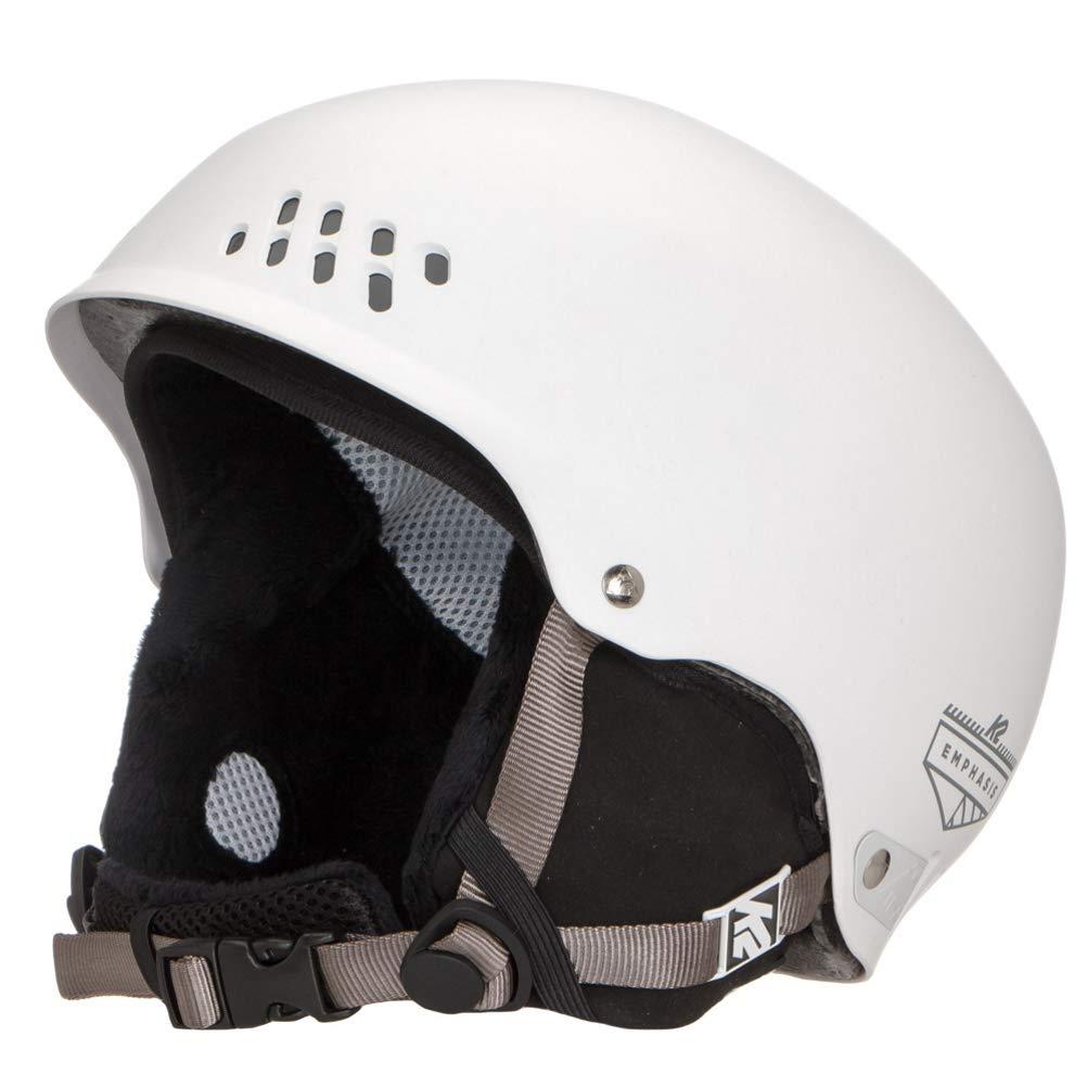 K2 Skis Damen Skihelm Emphasis weiß 1054008.2.2 Snowboard Snowboardhelm Kopfschutz Protektor
