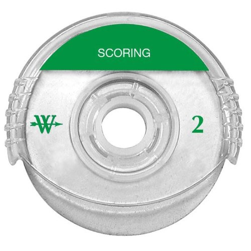 Westcott Titanium Bonded Rotary Trimmer Replacement Blade Scoring 45 mm