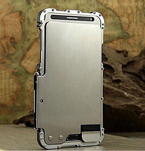 buy online f1284 bfae9 Note 4 case,Emilys Samsung Galaxy Note 4 case,Emilys 360 Armor King Cool  Luxury Metal Aluminum Case Cover for Samsung Galaxy Note 4(Silver)