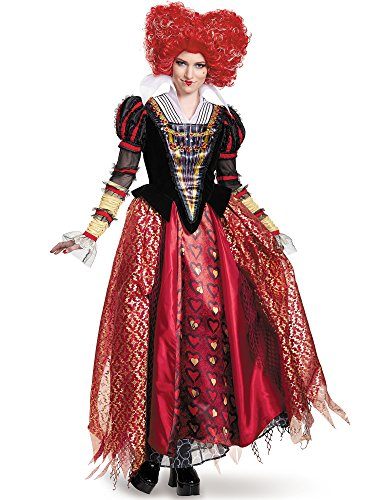 Disney Women's Alice Red Queen Prestige Costume, Medium ()