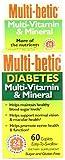 Multi-betic - Diabetes Multivitamin Supplement - 5000 IU / 250 mg...