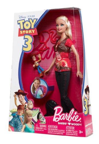 عروسک باربی عاشق وودی کلانتر از داستان اسباب بازی های 3 محصول Barbie. |