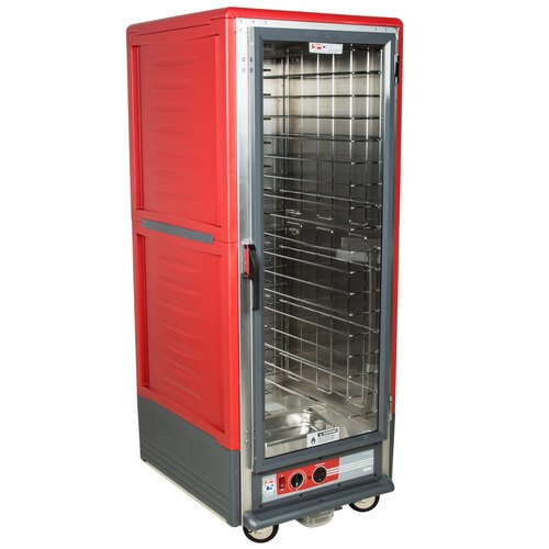 Full Height Insulated Mobile Heated Cabinet w/ (18) Pan Capacity, 120v
