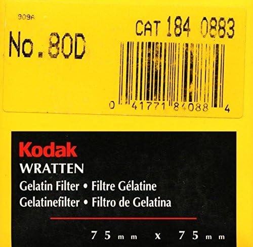 80D Color Conversion Blue 75mm Filter