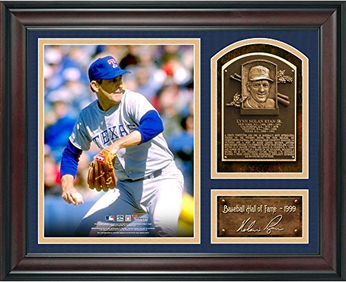 Nolan Ryan Baseball Hall of Fame Framed 15