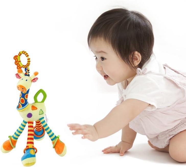 Peluche interactivo YKS amarrillo Beb/é Jirafa felpa juguete infantil toys