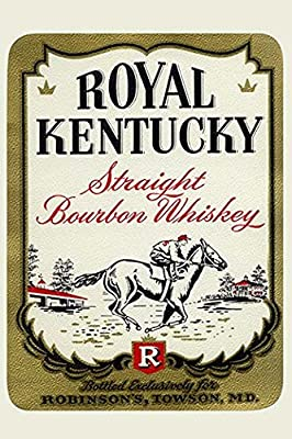 Buyenlarge 'Royal Kentucky Straight Bourbon Whiskey' Paper Poster, 20 by 30-Inch
