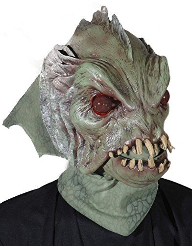 Deep Sea Creature w/ Moving Mouth Action Halloween Mask/M7006 (Sea Creatures Costume)