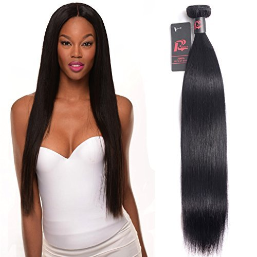 Malaysian Hair Straight 1 Bundle of 10 Inch 100g Human Hair Bundles 8A 100% Unprocessed Malaysian Virgin Hair Natural Color Hair Extension