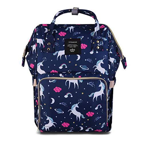 SAMAZ Unicorn Diaper Bag Large Nappy Bag Waterproof Multifunction Travel Backpack Fashion Mummy Daily Bag Durable Baby Bag for Mom - Bag Paisley Backpack Diaper
