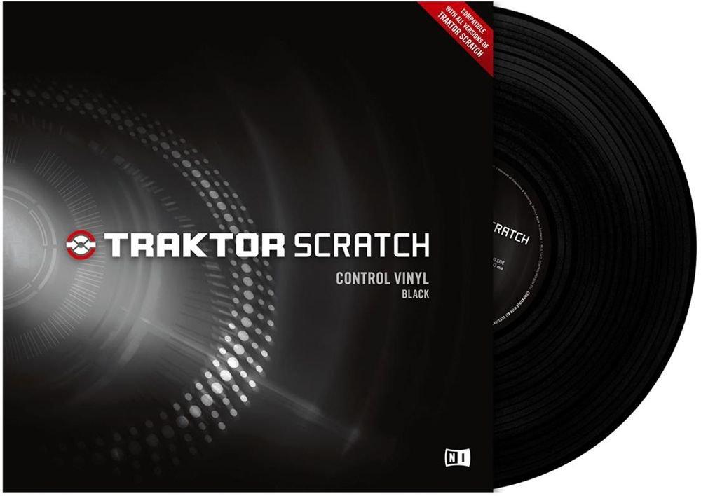 Traktor Control Vinyl MKII black Vinile di controllo