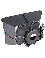 FOTGA DP500 Mark III 3 Pro DSLR Swing-away Matte Box Sunshade for 15mm Rod Rig Fit for BMPCC BMCC 5D2 5D3 A7 A7S A7R II D500 GH4 FS700