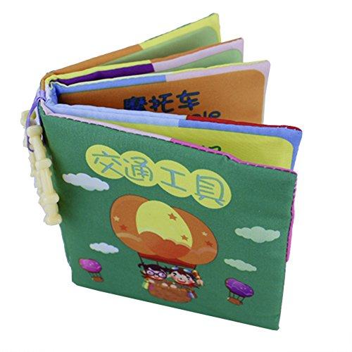Baby First Book Keepsake Infant Baby Intelligence Development Kid Cloth Cognize Book Toy (#5)