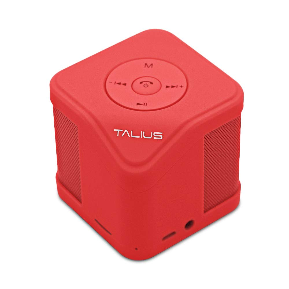 Amazon.com: Talius Cube - altavoz Bluetooth 3.0, tarjeta SD ...