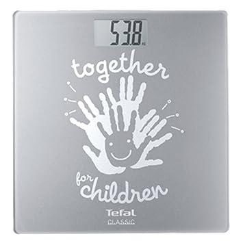 Tefal Classic UNICEF Balance De Salle Bain LCD Argent 29 Cm 30 2