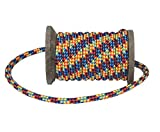 Ravenox by FMS Diamond Braid MFP Utility Rope | (Multi-Color)(3/8-in x 100 FT) | General Purpose Utility Cord for Camping, Bug Out Bags & Boating | Variety of Colors and Lengths | Made in The USA