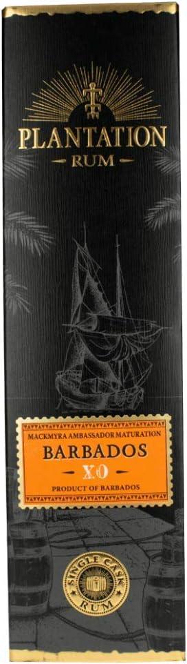 Plantation Barbados XO Single Cask Rum - 700 ml