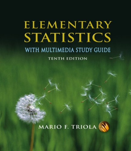 Elementary Statistics With Multimedia Study Guide Value Pack (includes MyMathLab/MyStatLab Student Access Kit & Stat