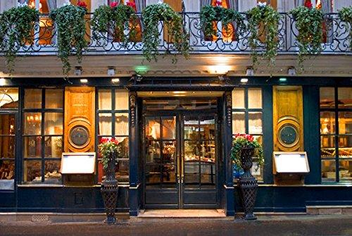 Paris Cafe I, Fine Art Photograph By: Rita Crane; One 36x24in Fine Art Paper Giclee Print