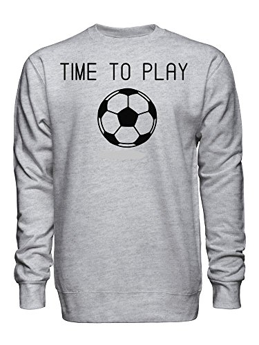 Time To Play Football Unisex Crew Neck Sweatshirt