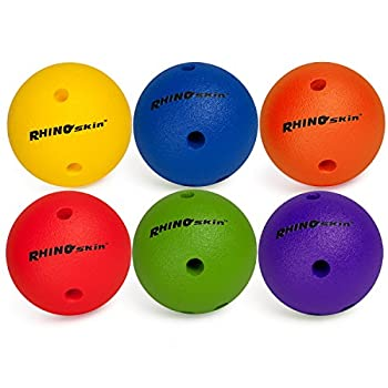 Image of Champion Sports Bowling Ball Set: Rhino Skin Soft Ball for Training & Kids Games