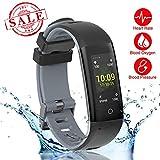 New Fitness Tracker, Smart Bracelet with Sport Mode, Health Tracker Activity Fitness Wristb