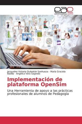 Descargar Libro Implementación De Plataforma Opensim Quilodrán Sanhueza Jacqueline Victoria