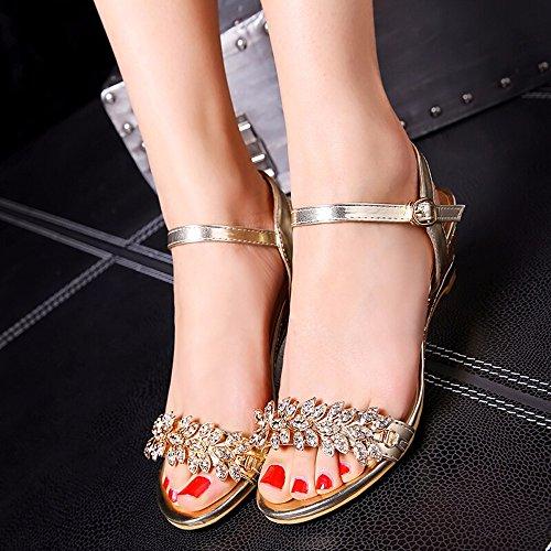 No 55 Bout Diamonds Avec Des Shoes Sandales Ouvert Summer ukZXPi