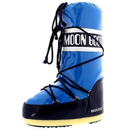 Etanche Femmes Bleu Bottes Moon Bottes Tecnica Neige Azure Hiver Sking Pluie Nylon rr6qIxTP4