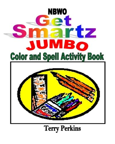 Read Online NBWO Get Smartz jumbo Color and Spell Activity Book (Volume 4) PDF