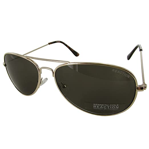 cab71f000f Amazon.com  Kenneth Cole Women s KC1248-59-32 Gold Aviator ...