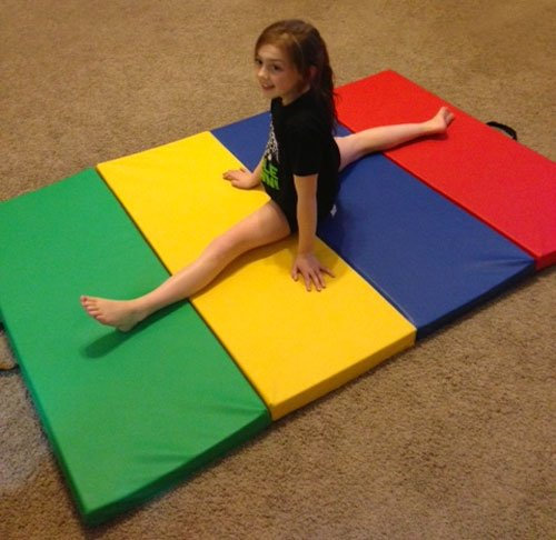 K-Roo Sports Children's And Gymnastics Tumbling Mat