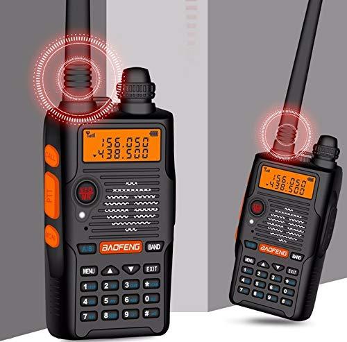 Baofeng UV-5R EX Talkie Walkie Double Bande Radio VHF et UHF Talkie-walkie