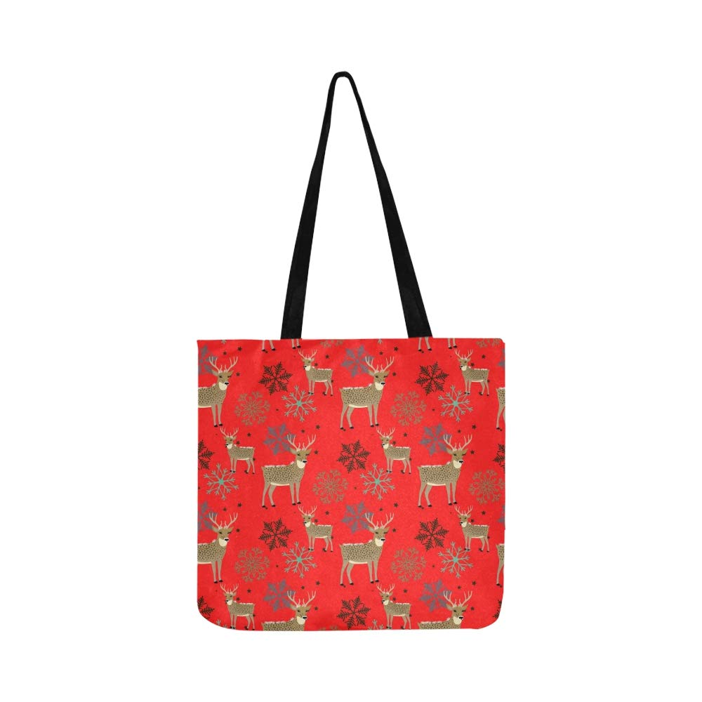 Handtaschen Seamless Christmas Pattern Canvas Tote Handbag Shoulder Bag Crossbody Bags Purses For Men And Women Shopping Tote Schuhe & Handtaschen
