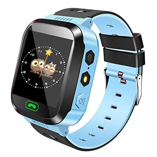 Smartwatch para niños, localización de GPRS + LBS, llamadas de voz y mensajes de voz, cámara de alta calidad, varios juegos de matemáticas, ...