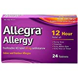 Allegra Allergy 12 Hour Non-Drowsy Tablets, 24 ea - 2pc