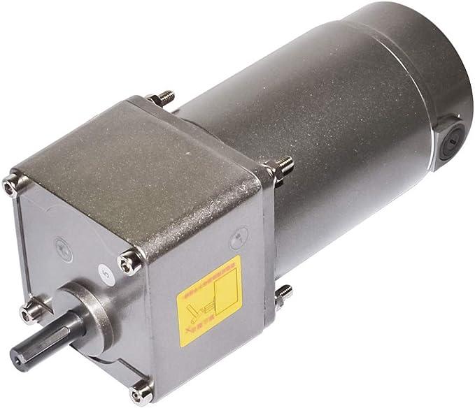 DC 12V Motor Low Speed Torque Gear Box Reducer Turbine Gear Motor 90rpm