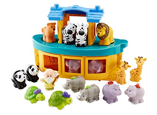 Fisher-Price Little People Touch and Feel Ark Restage Set