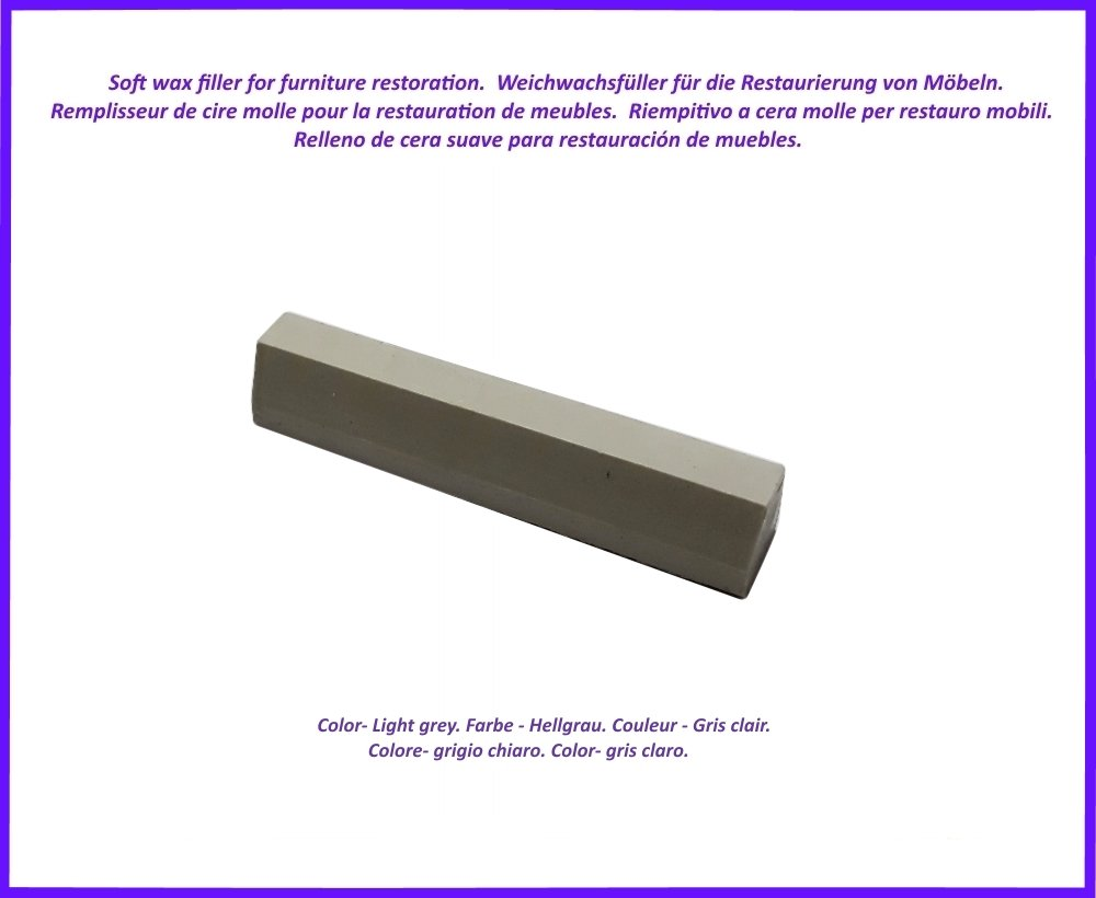 Wax Filler Stick For Wood And Laminate Furniture Colour Light  # Muebles Farbton
