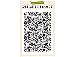 Echo Park Paper Company Floral Stamp, 4 X 6-inch