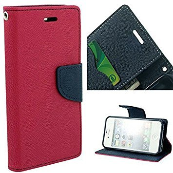 size 40 c200c 959f7 Flip Cover for Samsung Z2 - PINK: Amazon.in: Electronics