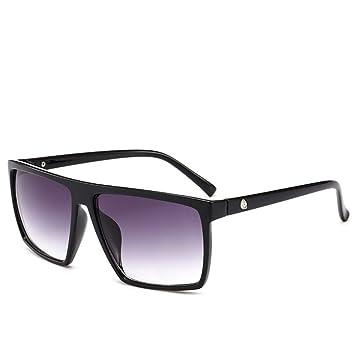 ZRTYJ Gafas de Sol cuadradas Gafas de Sol para Hombre ...