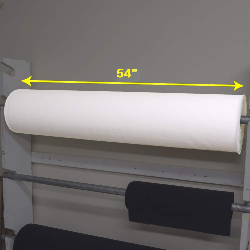 54'' Wide VELCRO Brand White Woven Wide Loop 3001 | Loop Side Only, Hook Side Sold Separatelyadhesive# by VELCRO