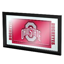 Ncaa Ohio State University Framed Logo Mirror