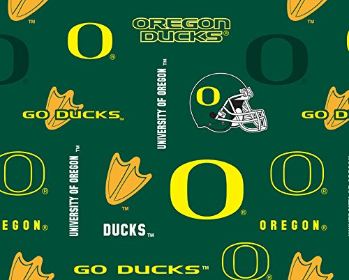 UNIVERSITY of OREGON COTTON FABRIC-OREGON DUCKS QUILTING 100% COTTON FABRIC SOLD BY THE YARD-