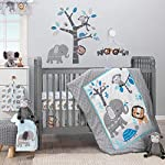 Bedtime-Originals-Jungle-Fun-Fitted-Crib-Sheet