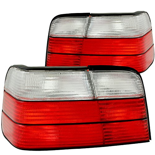 Door 2 Series 3 E36 - HEADLIGHTSDEPOT Tail Lights Set Compatible With BMW 3 Series E36 2 Door Coupe