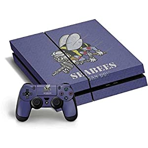 US Navy PS4 Horizontal Bundle Skin - Seabees Can Do Vinyl Decal Skin For Your PS4 Horizontal Bundle by Skinit