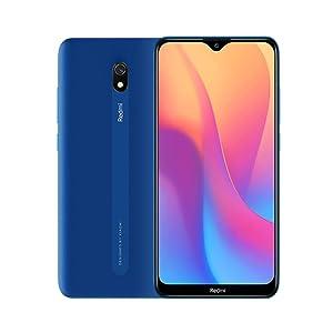 """Xiaomi Redmi 8A Smartphone, 2GB 32GB Mobilephone, 6,22""""Pantalla Snapdargon 439 Octa Core Teléfono Móvil 5000mAh 12MP AI Tipo Cámara Trasera 8MP Cámara Frontal,Versión Global (Azul)"""